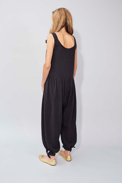 Molly Jumpsuit in Black Tencel