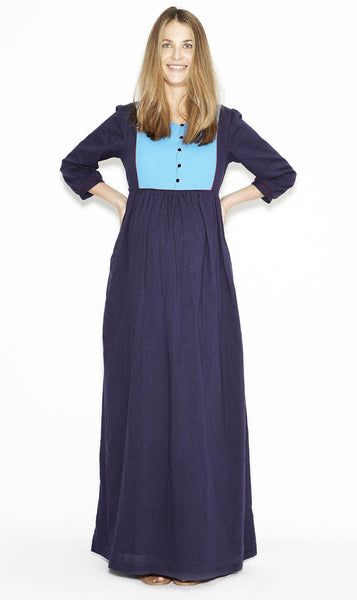 Long Navy dress
