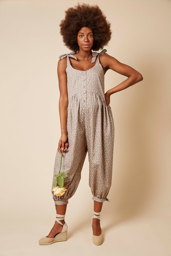 Molly Jumpsuit in Floral Print