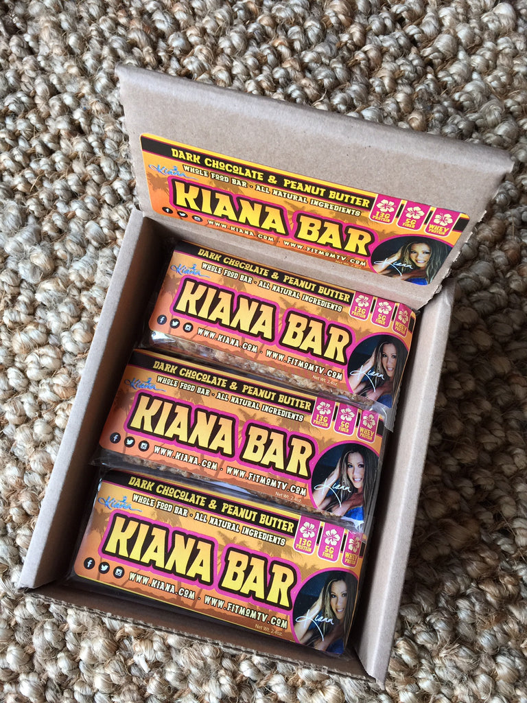 Kiana Bars Display Box
