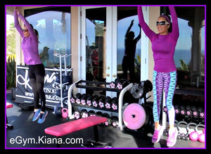 KIANA'S GYM IS NOW OPEN TO ONLINE MEMBERS!