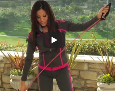 Tighten Your Triceps with Kiana Super Bands