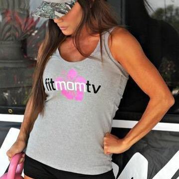 Fit Mom TV Tank Tops - Gym Gray