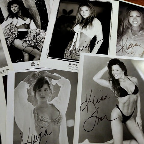 Collectors Pack: 9 B&W Autographed Glossy Photos, 8x10, Composites