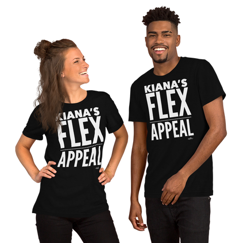 Kiana's Flex Appeal Short-Sleeve Unisex T-Shirt
