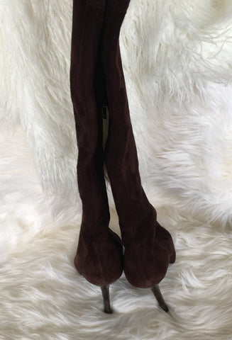 SEXY THIGH HIGH SUEDE BOOTS