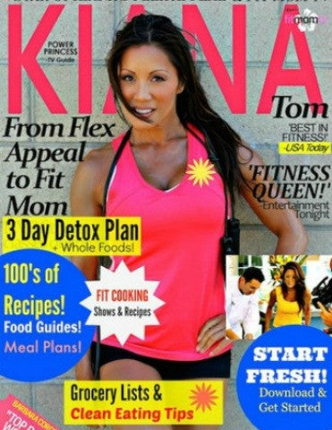 BUNDLE: Best Selling Bundle! Recipes, Detox Menu Plan, Healthy Snack Guides, Grocery Lists - Kiana Fitness Shop