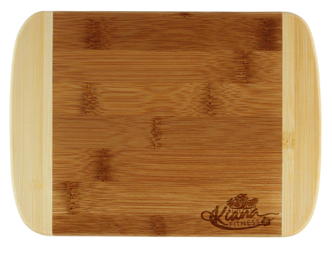 Bamboo Cut & Serve Board: Molokini - Kiana Fitness Shop - 3