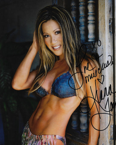 Autographed 8x10 GLOSSY PHOTOGRAPH