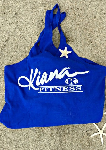 Kiana Multi Purpose Reusable Tote - Ocean Blue - Kiana Fitness Shop - 5