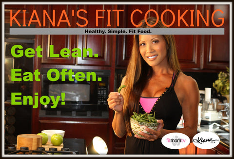 KIANA'S FIT COOKING RECIPE E-BOOK - Kiana Fitness Shop - 2