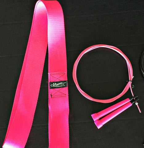 Gear Package: Speed Jump Rope & Stretch Strap Set - Kiana Fitness Shop - 1