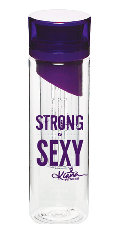 Detox Infusion Water Bottle: Strong is SEXY - Kiana Fitness Shop - 7