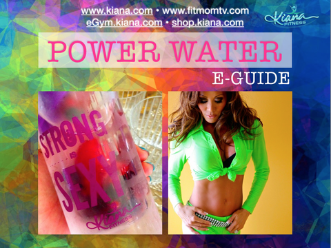 Detox Infusion Water Bottle: Strong is SEXY - Kiana Fitness Shop - 10