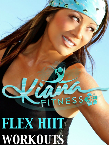 FLEX HIIT WORKOUT PLAN: UPPER BODY & CORE - Kiana Fitness Shop