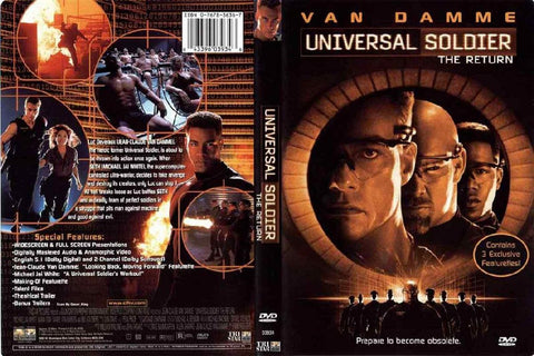 DVD Universal Soldier - Kiana Fitness Shop - 12
