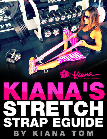 Stretch Strap & eGuide: Pink - Kiana Fitness Shop - 4