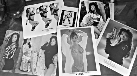Kiana B&W Collectors Pack: 6 Autographed Items!