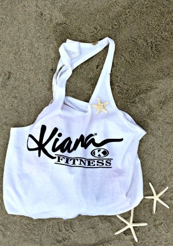 Kiana Multi Purpose Reusable Tote - White - Kiana Fitness Shop - 2