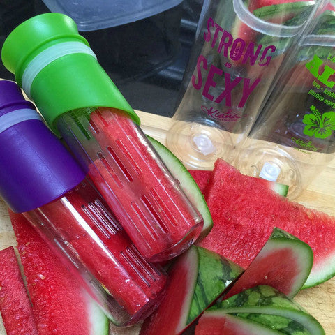 detox infusion water bottle strong is sexy kiana fitness shop. Black Bedroom Furniture Sets. Home Design Ideas