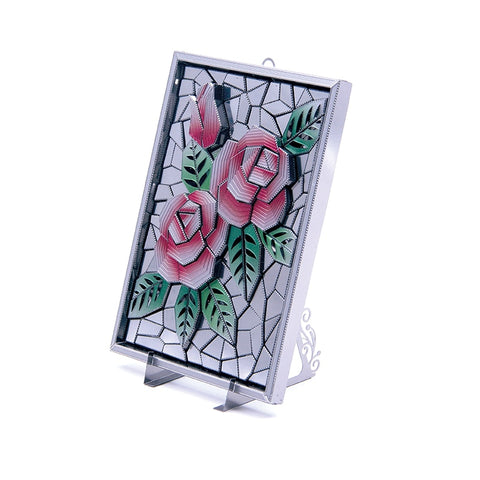 Framed Rose - Metaltech Models