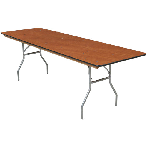 Plywood Banquet Folding Tables (multiple shapes & sizes)