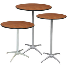 Load image into Gallery viewer, Plywood Banquet Folding Tables (multiple shapes & sizes)