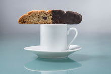 Load image into Gallery viewer, Rim White Demitasse (espresso) Cup and Saucer