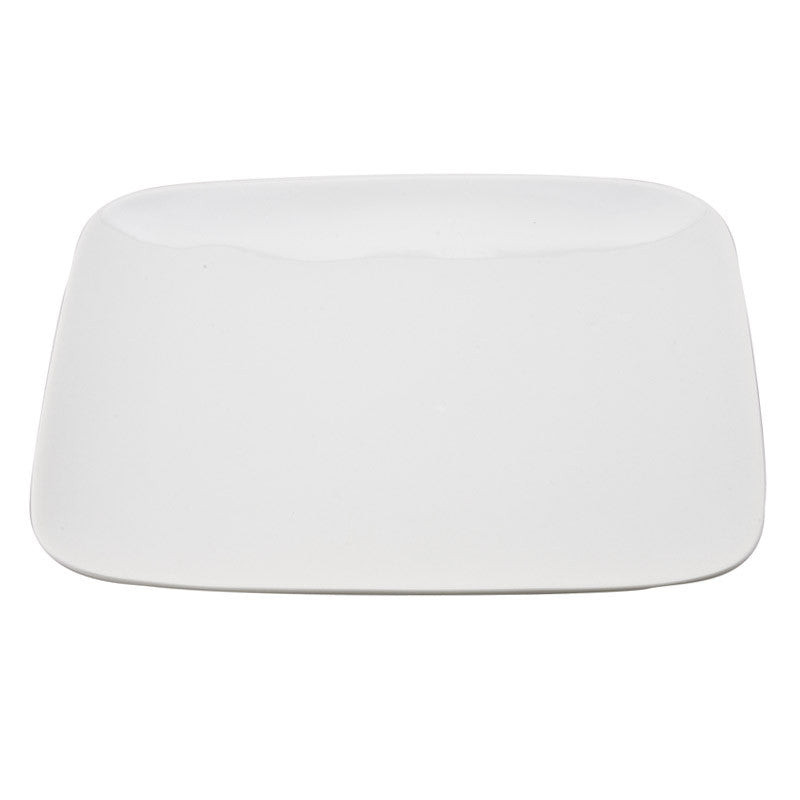 White Porcelain Rectangle Coupe Plates IEP