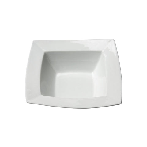 "White Square Bowl 7.5""- 12 oz"