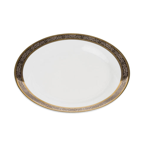 Cotillion Platinum with Gold Dinner Plate 10.5""