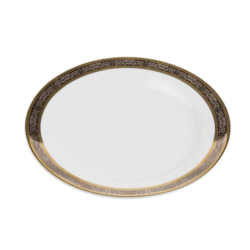 Cotillion Platinum with Gold Luncheon Plate 9