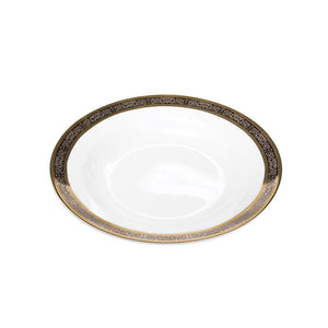 "Cotillion Platinum with Gold Soup Bowl 8""- 9 oz"