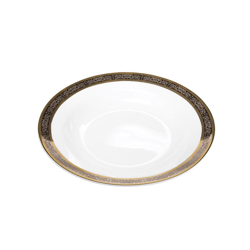 Cotillion Platinum with Gold Soup Bowl 8