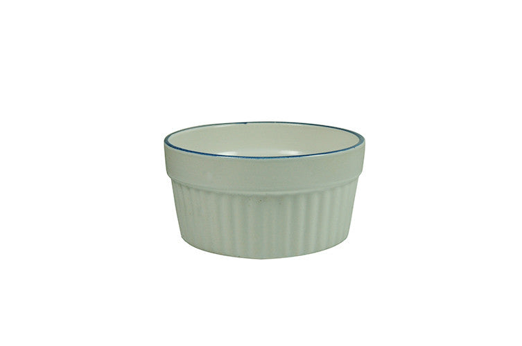 877 463 5346 >> Ramekin With Blue Rim 3 75