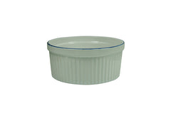 "Ramekin with Blue Rim 4.25"" - 11 oz"