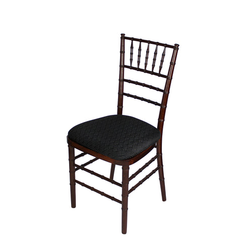 Black Chiavari Chair Hard Cushion IEP