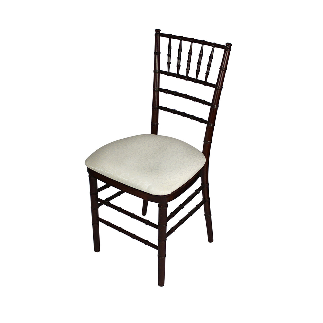 Ivory Chiavari Chair Hard Cushion IEP