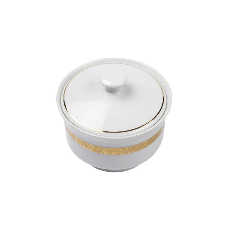 Majestic Gold Sugar Bowl with Cover - 10 oz