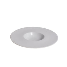 Load image into Gallery viewer, White Porcelain Small Well Bowl with Wide Rim IEP