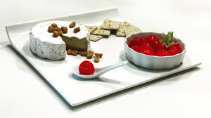 Ultra White Pike Plates / Platters **CLOSEOUT**