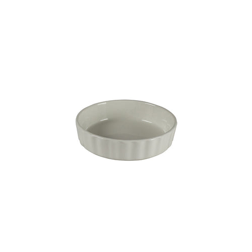 White Porcelain Scalloped Edge Ramekin 8oz IEP
