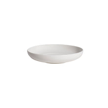 Load image into Gallery viewer, White Porcelain Shallow Round Serving Bowls IEP