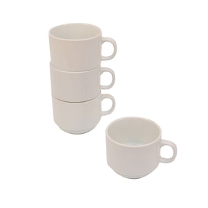 Rim White Stacking Cup