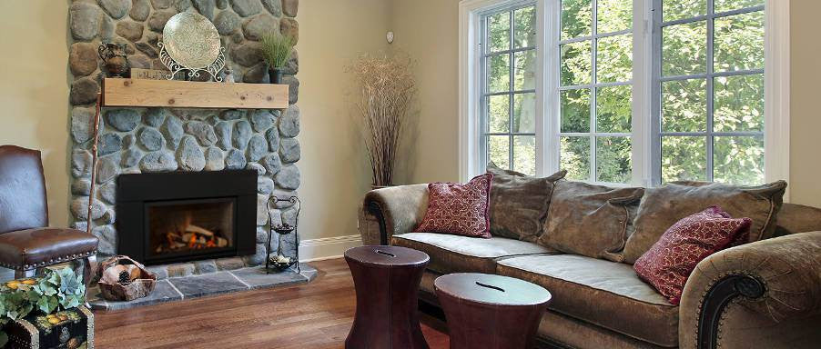 Savannah Gas Insert Fireplaces