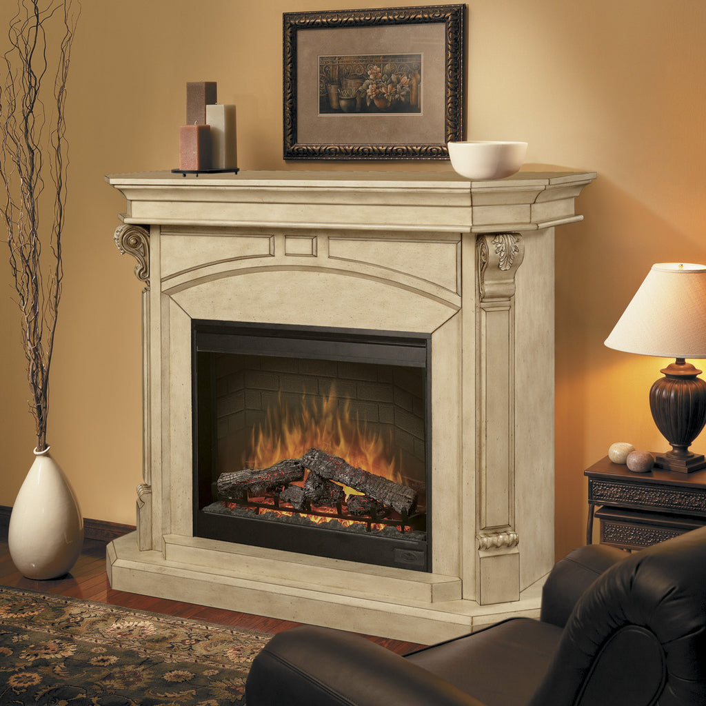 Dimplex Electric Fireplace in Mantels