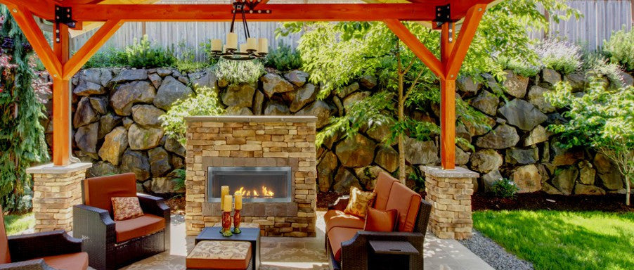 Savannah Outdoor Gas Fireplaces