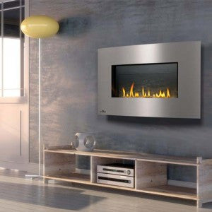 Napoleon Direct Vent Gas Fireplace - Modern Style