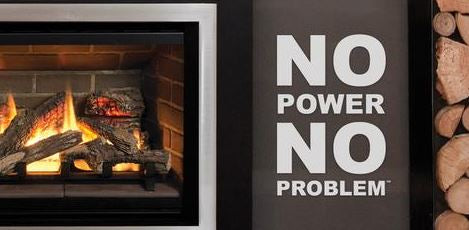 Valor Gas Fireplaces - Patio Palace - No Electricity Needed