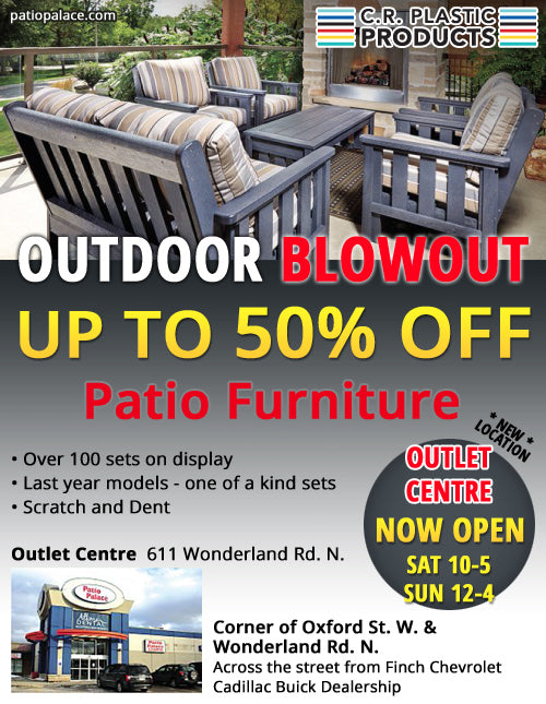 Patio Palace Promotion